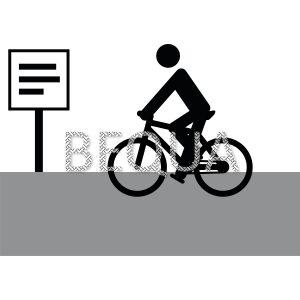 Fahrrad auf Straße.png