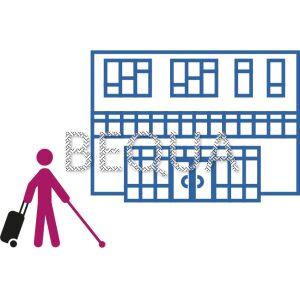 Blinder mit Koffer Gebäude.png