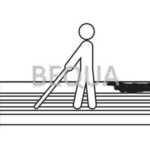 Blinde und Sehbehinderte Leitsystem weiß.png